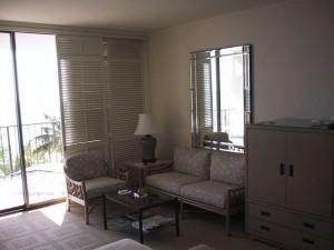 Halekulani Hotel Room - Sitting Area