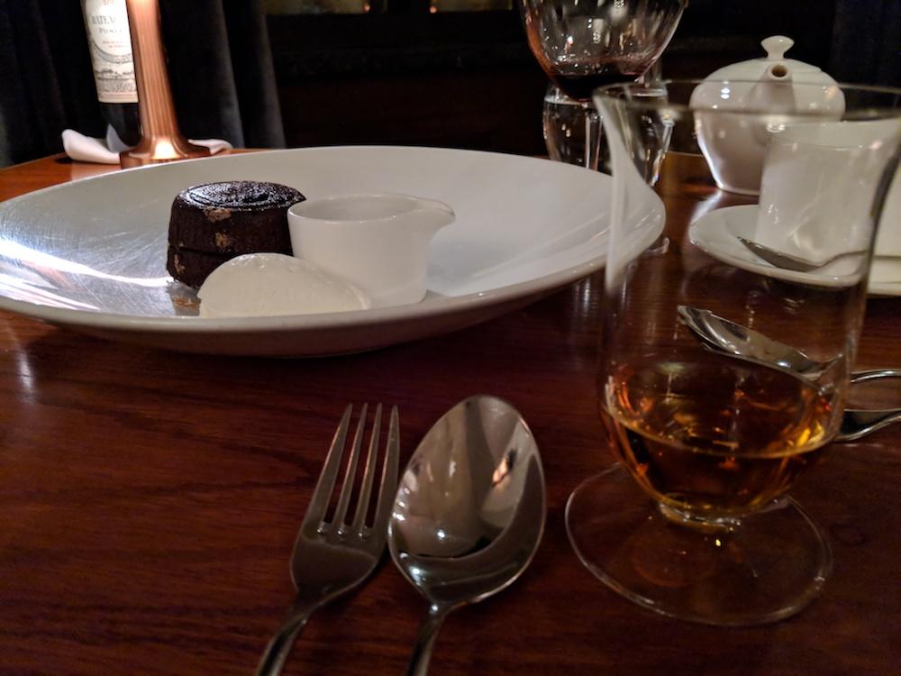 Molten Chocolate Lava Cake, Pappy Van Winkle