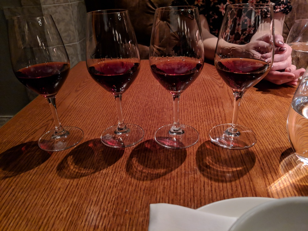 Forty years of Tawny Port (10, 20, 30, 40)