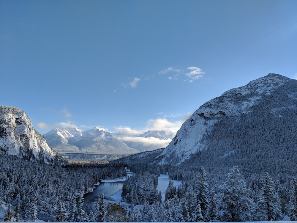 Another glorious look at the Bow Valley