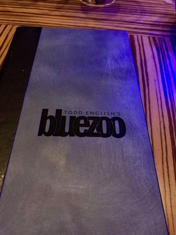 Todd English's Bluezoo Menu