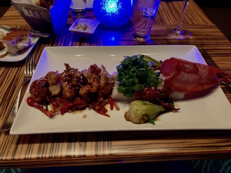 Bluezoo's signature dish: Two-Pound Maine Cantonese Lobster