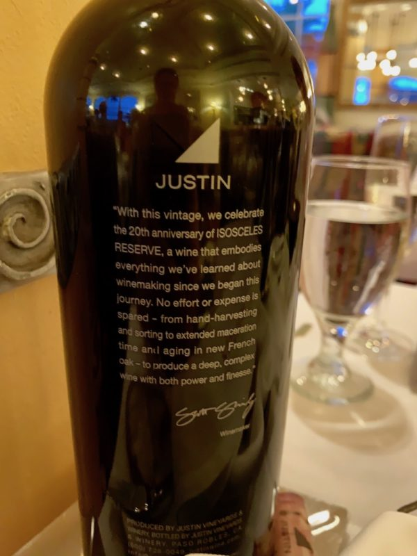 Justin label