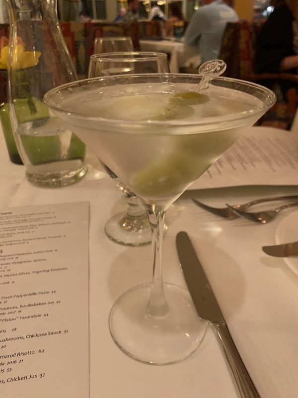 Martini at Citricos