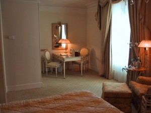 A Suite at the Four Seasons George V Hotel in Paris France