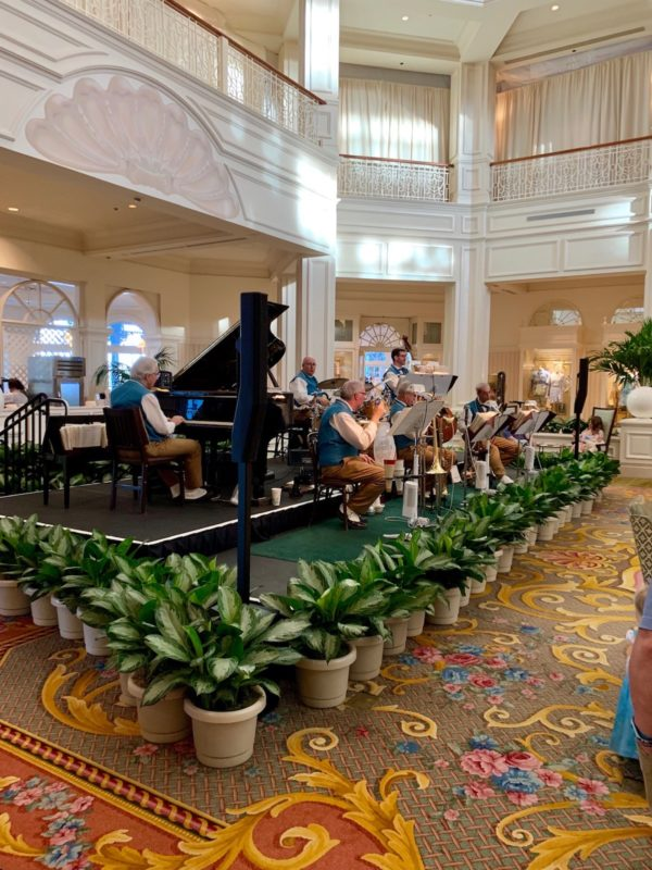 Grand Floridian's elegant lobby
