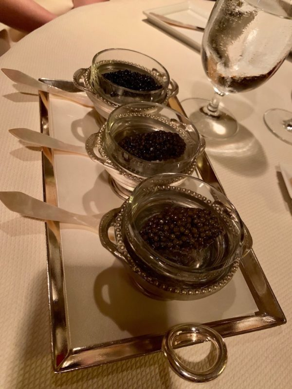 International Caviar Tasting