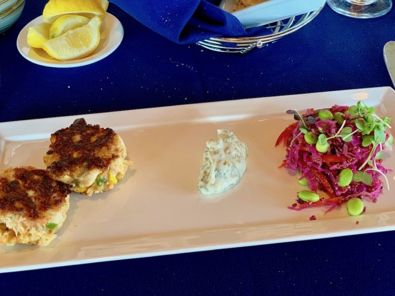 Shrimp and Crab Cakes Appetizer