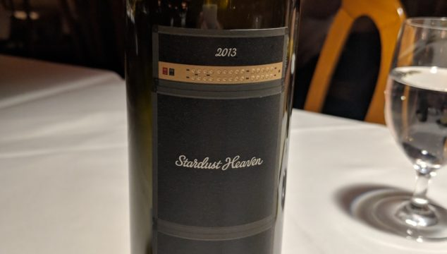Review of 2013 Cliff Lede Cabernet Sauvignon Stardust Heaven- at the Post Hotel, Lake Louise, Alberta