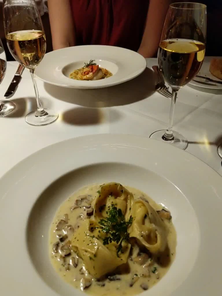 Lobster Risotto and Homemade Tortellini