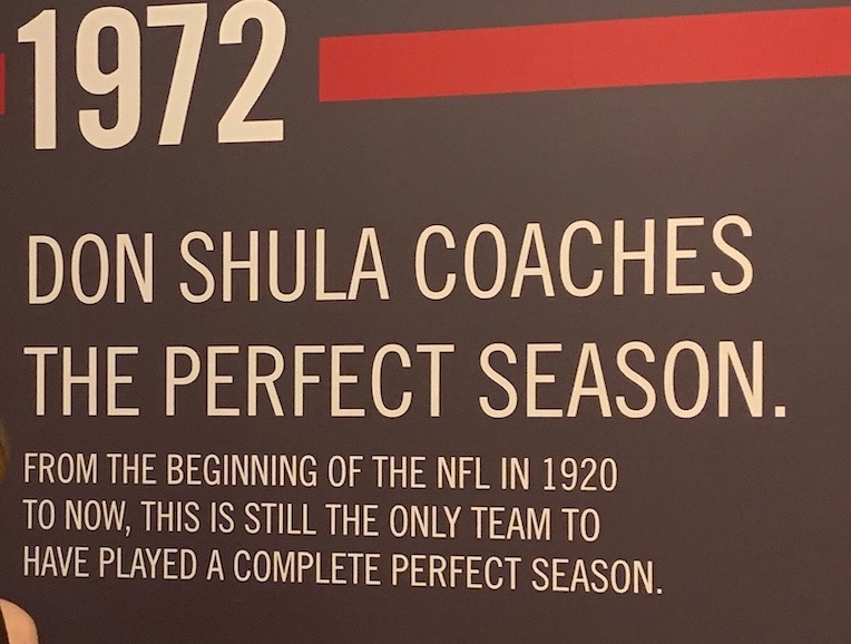 Shula's Steak House - Still Celebrating the Perfect Season