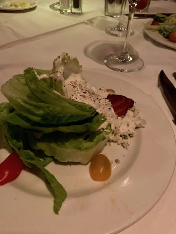 Wedge Salad - steakhouse classic