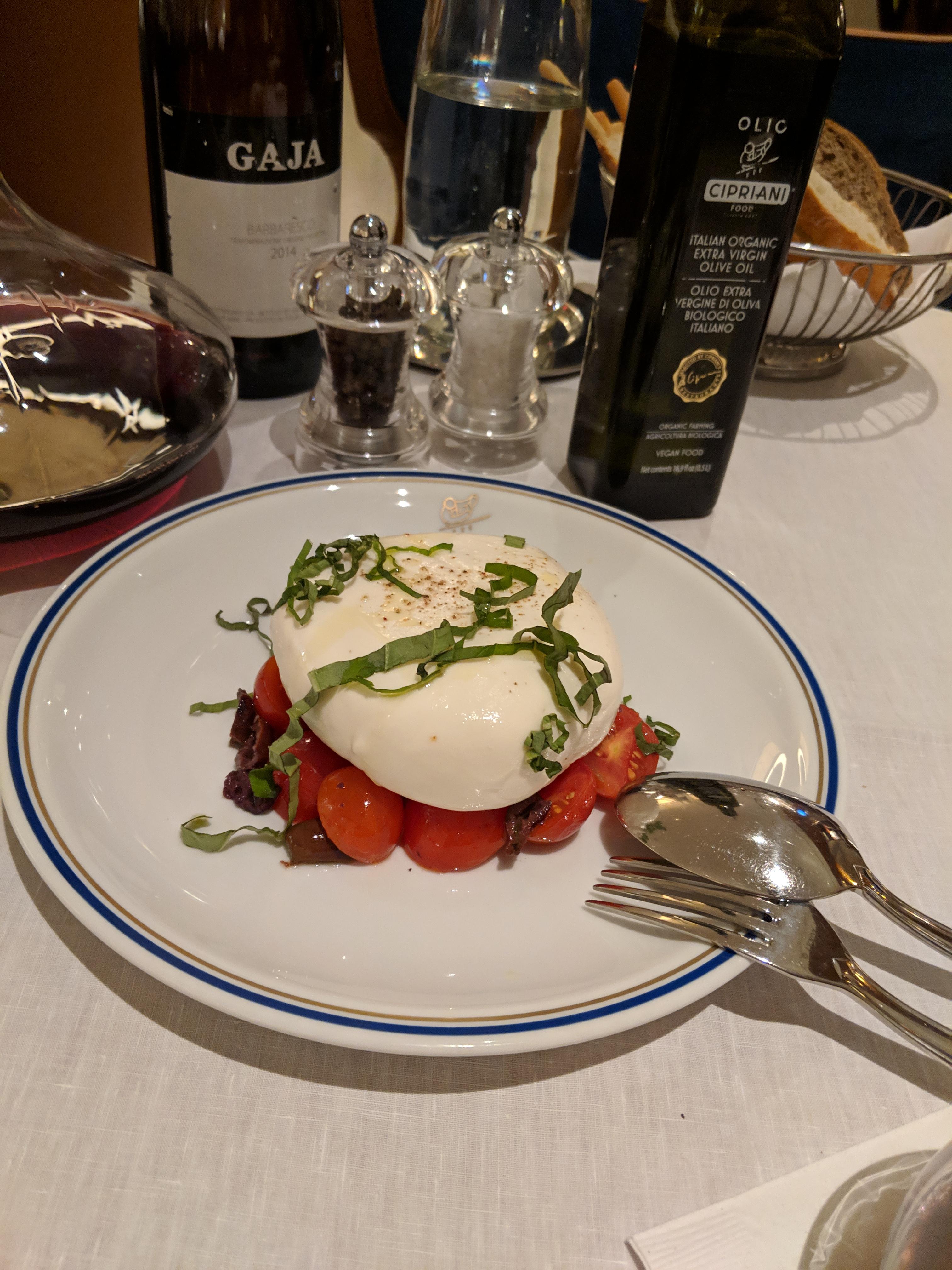 """Salad - Burrata """"alla Mediterranea"""""""