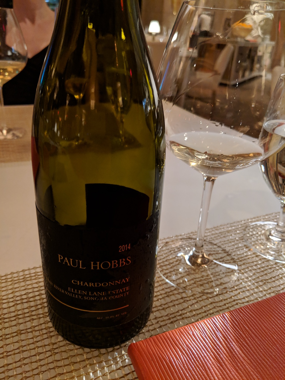 2014 Paul Hobbs Chardonnay