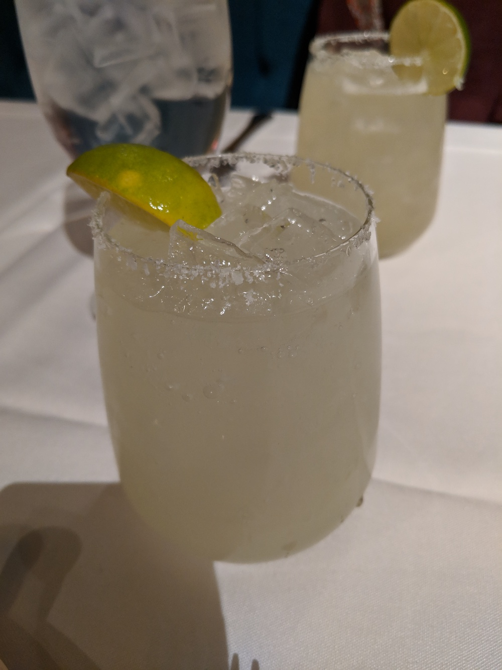 Signature margaritas at Mesa Grill