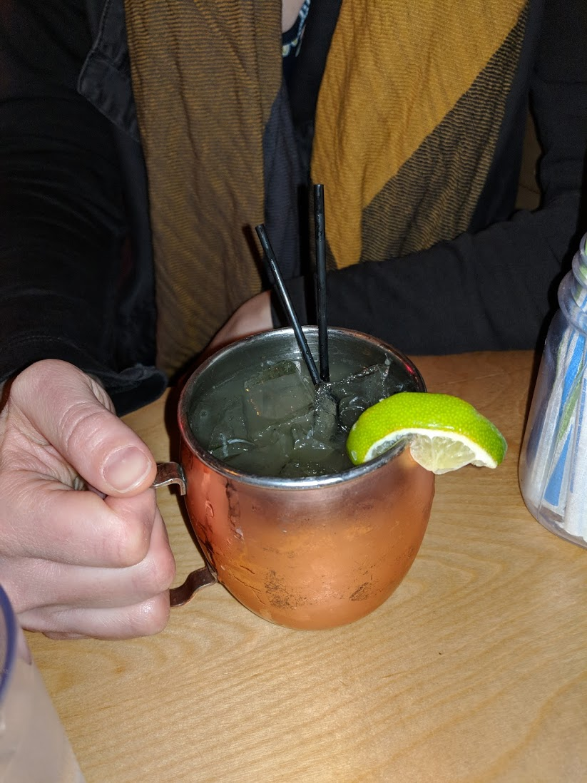 Me and my Moscow Mule