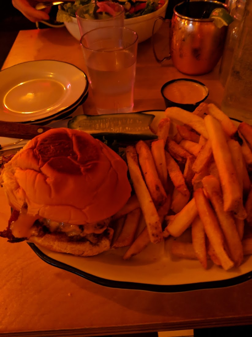 Burgers and Fries, Black Tap Style