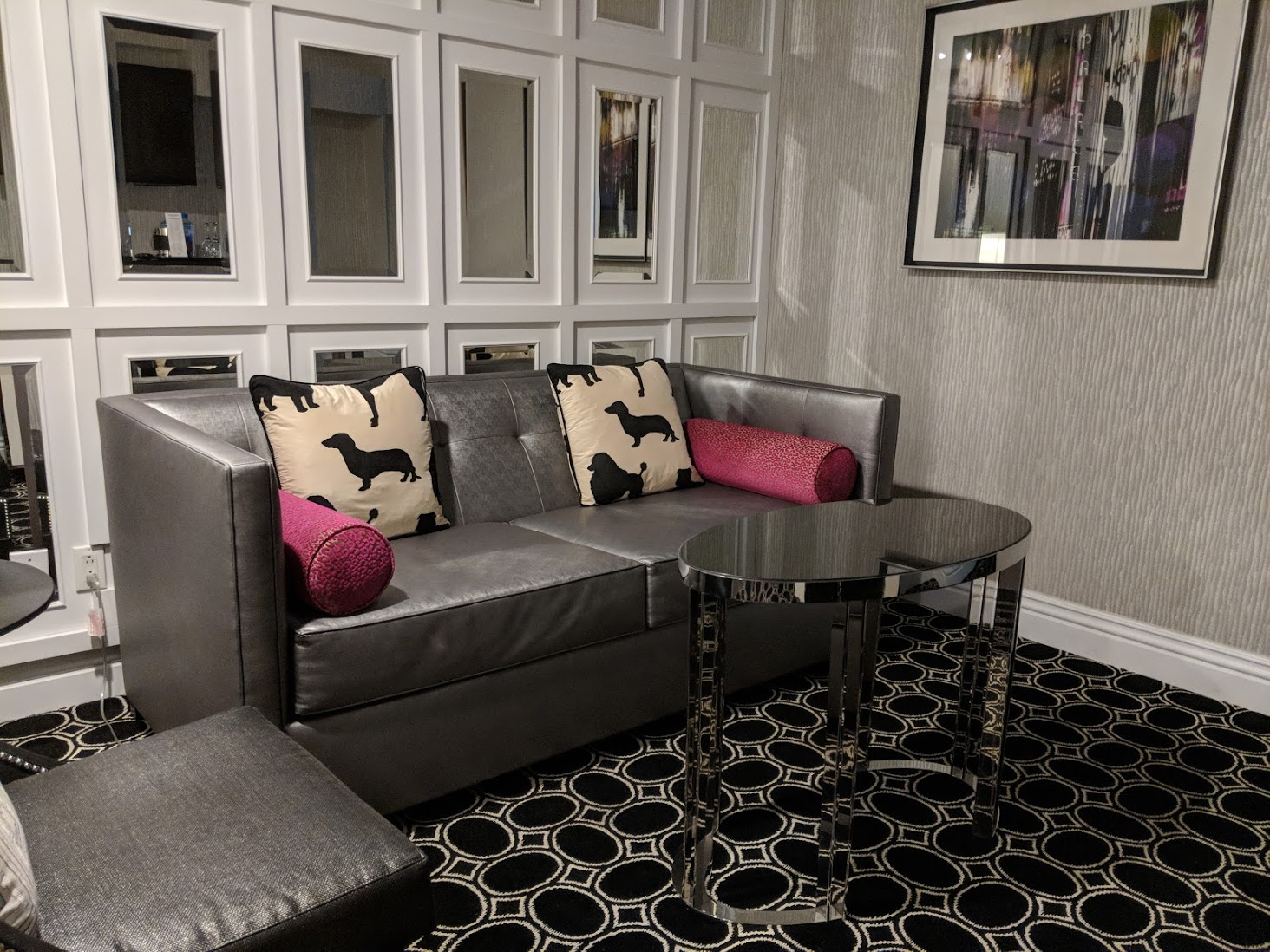 Sitting Room In Muse Suite