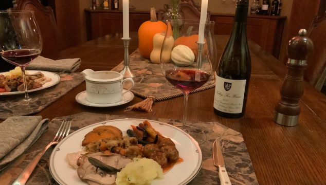 A small but memorable Thanksgiving celebration