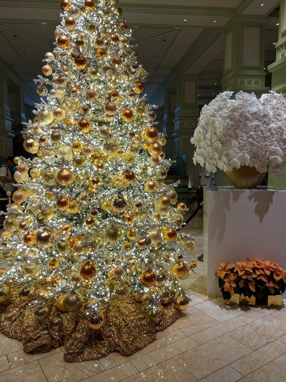 Wynn Decorated for Christmas