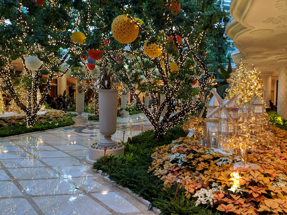 Christmas Charm at the Wynn Hotel