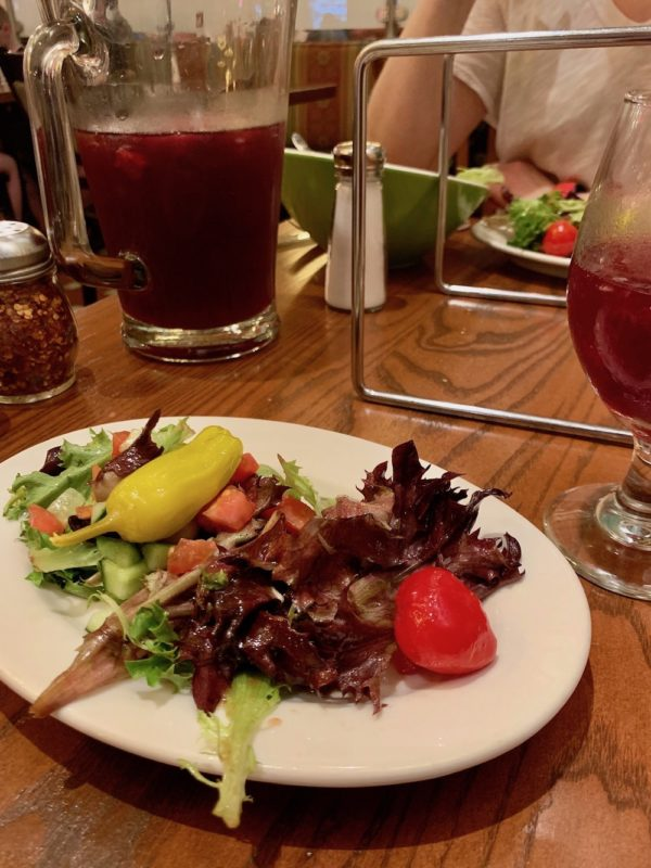 Sangria and Salad